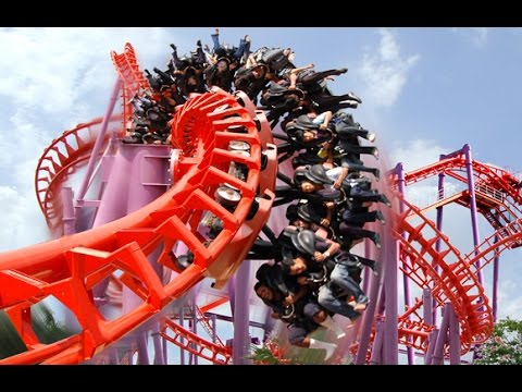 Craziest Roller Coaster Ever - Siam Park Bangkok Thailand