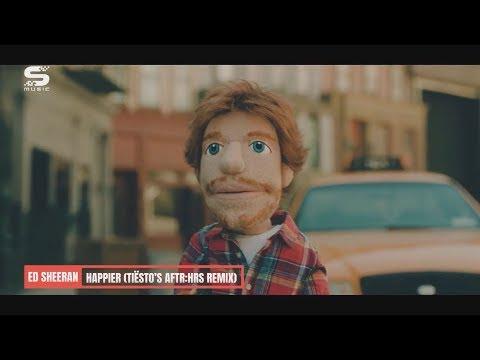 Music video Ed Sheeran - Happier (Tiësto's AFTR:HRS Remix)