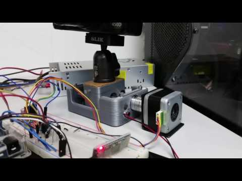 Diy 3d printer testing confirm your ramps arduino for Stepper motor camera slider