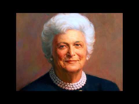 First Lady Biography: Barbara Bush