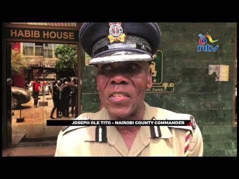 Detectives investigate Habib Bank robbery