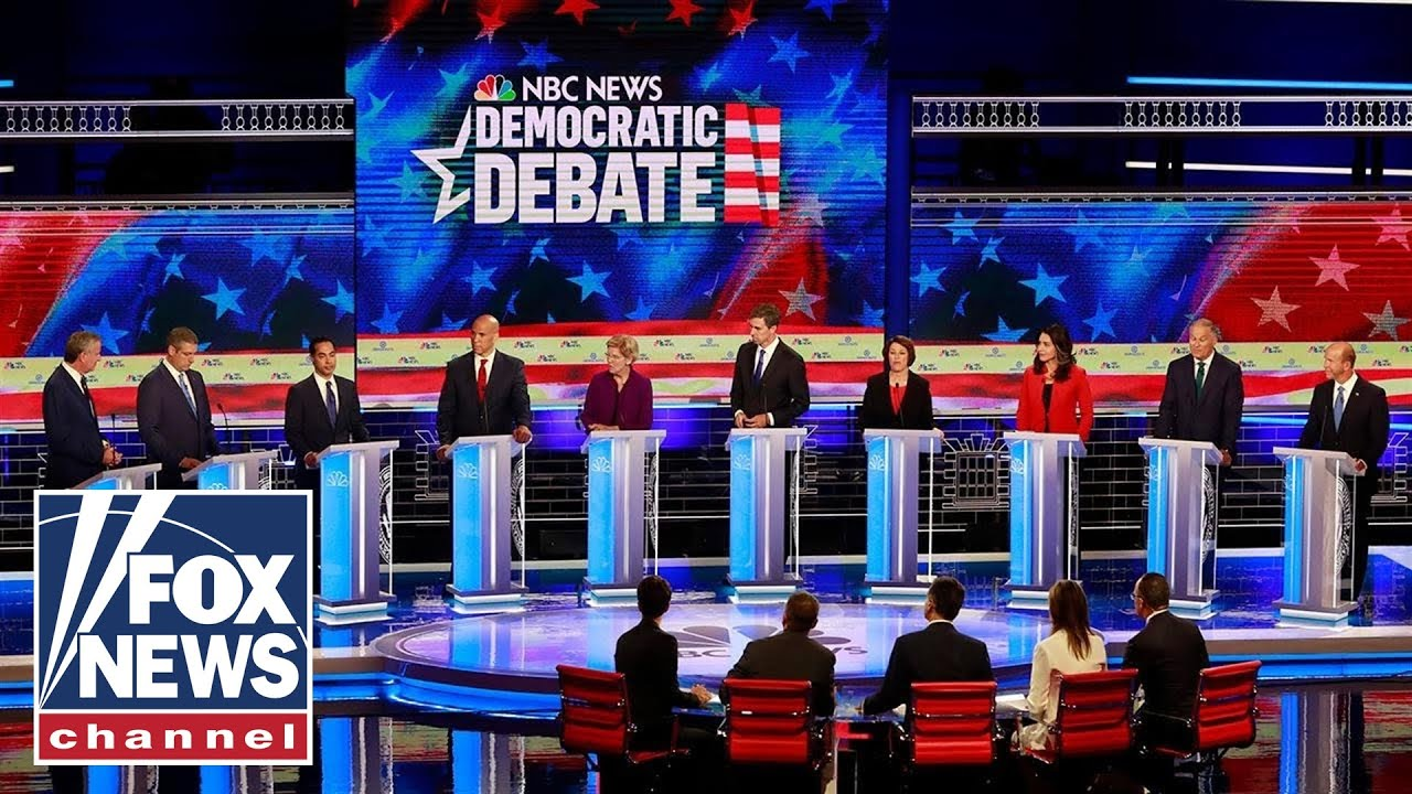 Democrat 2020 hopefuls spar over border crisis during debate
