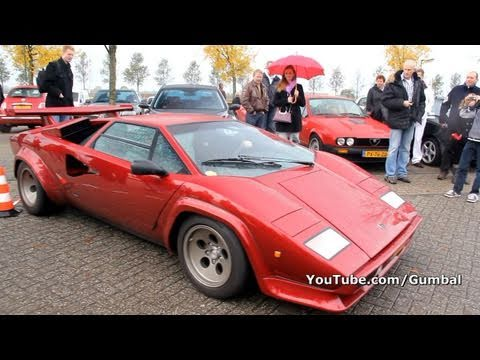 Lamborghini Countach Lp500 S Start Up Sound Youtube