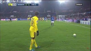 RC Strasbourg 2-1 Paris SG (Ligue 1 2017/2018 - 16e journée) Le Résumé