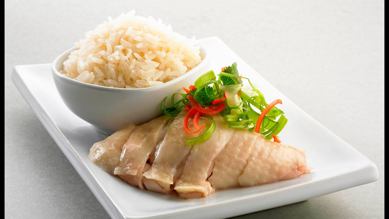 Hainanese Chicken Rice - CHNG Kee's Recipe - YouTube