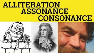 🔵 Assonance Consonance Alliteration - Meaning and Examples of Assonance Consonance Alliteration