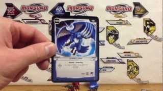 Wave 4 Monsuno Toy Opening - #52 Elemental Dragonburn Eklipse #50 Cheeclaw Core-Tech