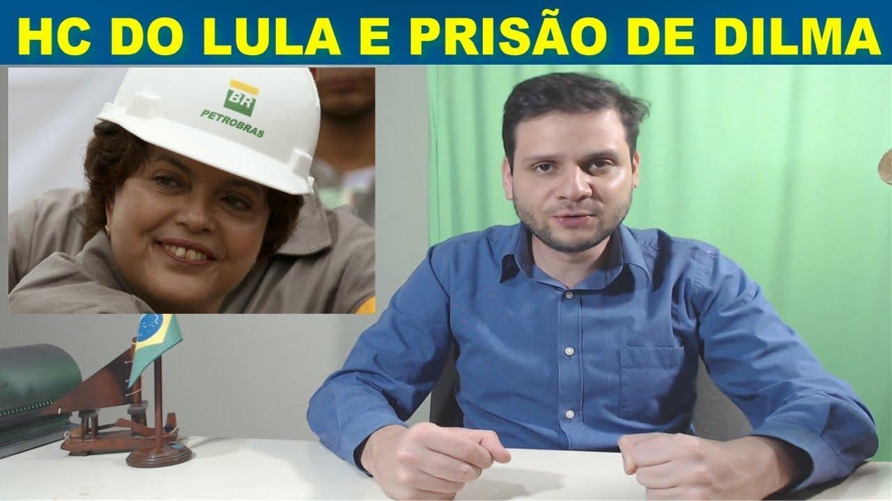 PT teme prisão de Dilma - HC do Lula - Bolsonaro