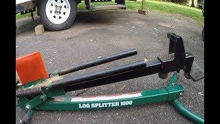 Manual Log Splitter 1000 - How To