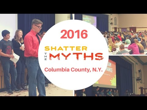 2016 Shatter The Myths – Columbia County, N.Y.