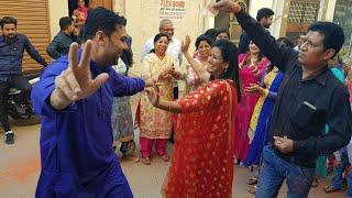 Mamta Singing & Dancing in Ludhiana || Mamta Sachdeva's Cousin's Ghadoli & Shagan Moments ||