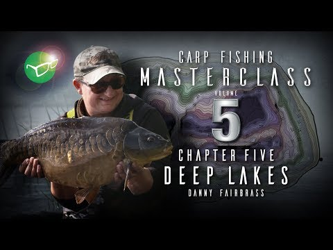 Korda Carp Fishing Masterclass 5  Deep Lakes  Danny Fairbrass  Free DVD 2018