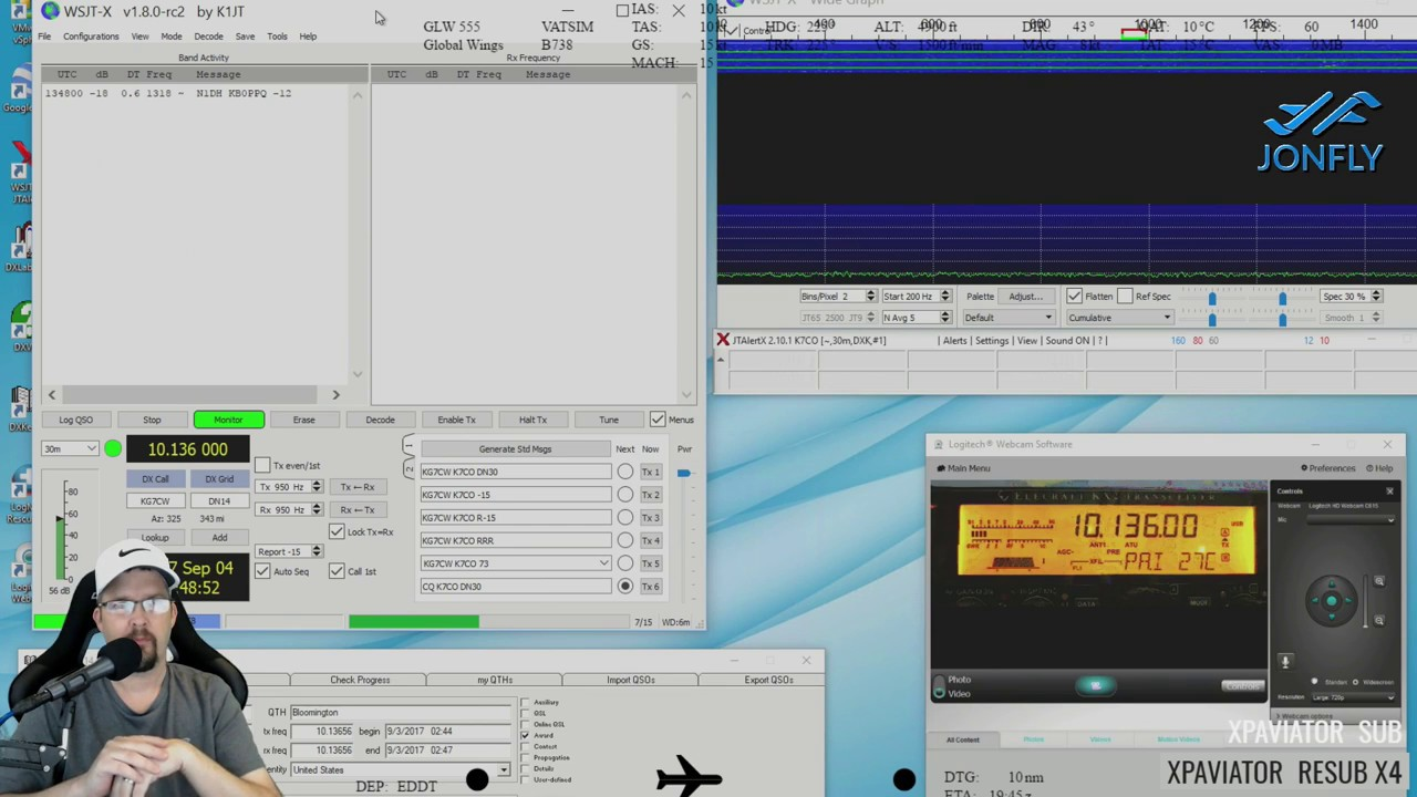 Ham Radio ! Elecraft KX2 and FT8 - P-Loop 2 0 WSJT-X and JTAlert - Wizkers  Radio