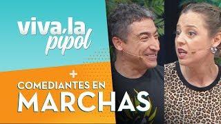 Comediantes en marcha: La iniciativa que apoya las movilizaciones en Chile - Viva La Pipol