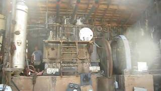 1930' Chicago Pneumatic Power Plant Engine Start and Run thumbnail
