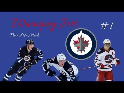 """NHL 18 - Winnipeg Jets Franchise Mode #1 """"Exploring"""""""