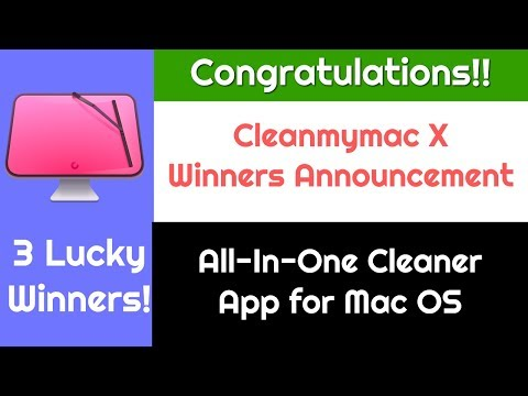 Cleanmymac X License Key Winners Announcement