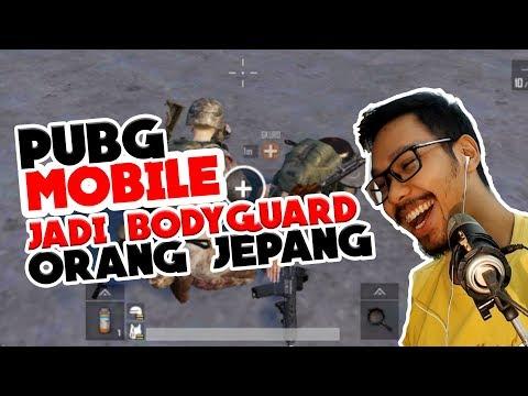 JADI BODYGUARD ORANG JEPANG - PUBG MOBILE INDONESIA