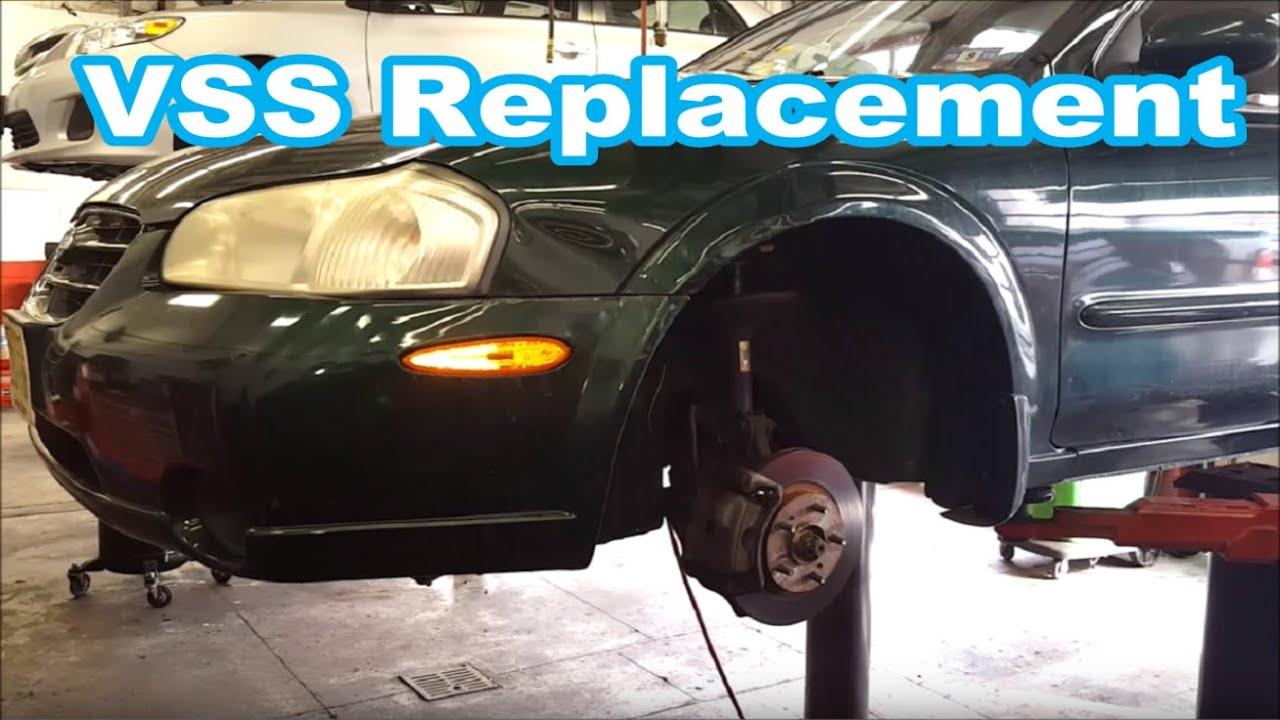 2001 nissan maxima vehicle speed sensor vss removal replace