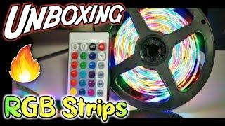 RGB Led Strip light Unboxing + Review(hindi) | Desk decoration gadget under RS.300 | Gadgets(2019)