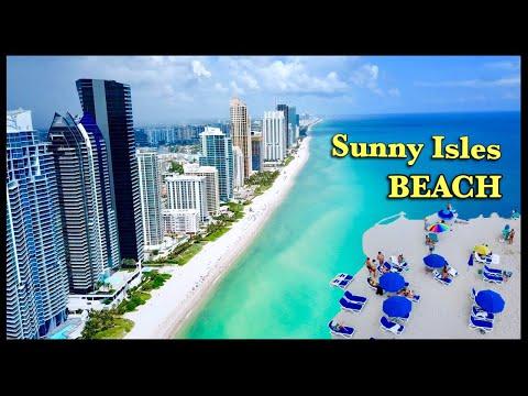 Sunny Isles Beach Miami 2019 Drone 4K