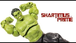 Marvel Legends Hulk Avengers Age of Ultron Movie Thanos BAF Infinite Series Action Figure Review