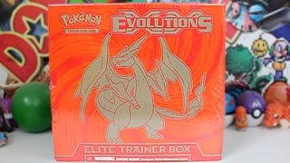 Opening The Best Charizard Evolutions Elite Trainer Box!!!