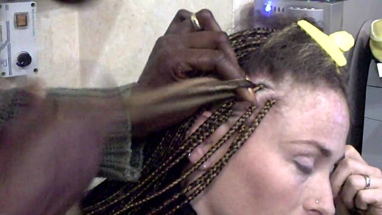 Capelli treccine afro uomo