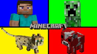 LEARN COLORS WITH MINECRAFT SURPRISE EGGS | Colours for Kids | Learning Colors | JUNIORS TOONS