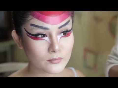 Body Painting Dragon lady Yakuza Jakarta , Face Painting Jakarta, Body Art, indonesia