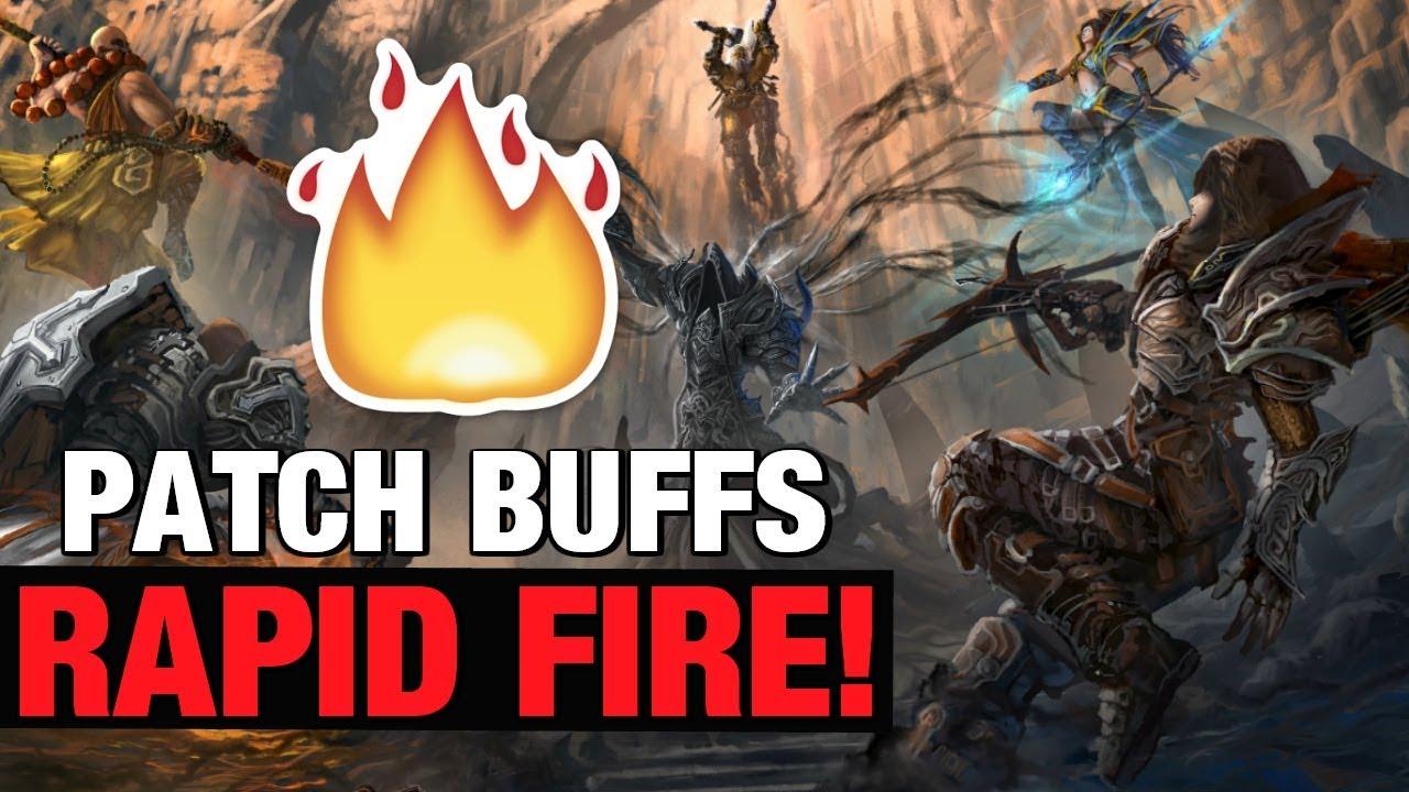Diablo 3 Patch Update 2 6 5 Season 17 Rapid Fire Blessed Shield & More!