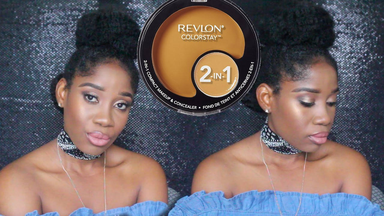 The New Revlon Colorstay 2 in 1 Foundation (Caramel & Cappuccino ...