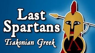 Last Spartans: the survival of Laconic Greek