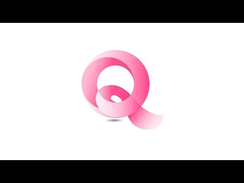 #DESIGNILLUSTRATOR Q LOGO DESIGN ILLUSTRATOR TUTORIAL / ADOBE ILLUSTRATOR LOGO DESIGN TUTORIAL thumbnail