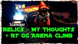 Relics - My Thoughts + R7 GG Arena Climb || Star Wars Galaxy of Heroes SWGOH