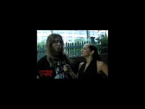 Metal Sanaz interview with Alex From Cannibal Corpse
