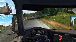 Euro Truck Simulator 2 / Auftrag 4: München - Salzburg / TruckSim - Map 4.5.4a (HD)