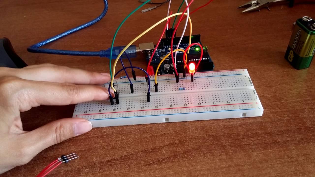 Arduino buton ile led kontrolü youtube