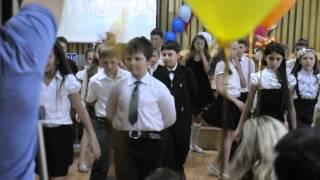 выпускной начальной школы 4-А класс - ВАЛЬС
