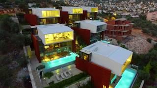 Antalya Kaş - Kalkan Villaları Günlük Haftalık Aylık Kiralık Tatil İmkanı - Prokopter Production
