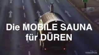 Mobile Sauna Düren Aachen Köln Kerpen Banja Wenik / Anhänger/ Holzbefeuert / Hamam / Schwitzen