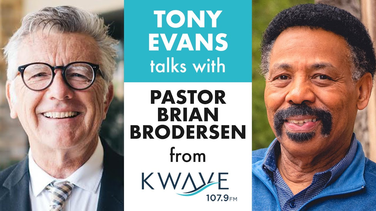 LISTEN: Is There Racism in the Church Today? – Pastor Brian Brodersen Interviews Dr. Tony Evans on Race and the Current State of America on K-Wave Radio