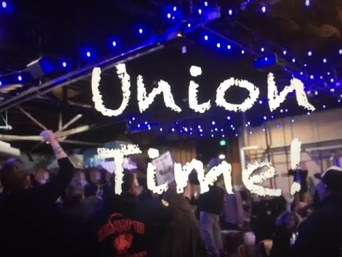 UNION TIME At Anchor Steam-ILWU Raises The Anchor In SF!