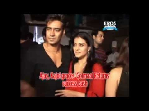 Ajay Devgn & Kajol graces 'Golmaal Returns' success bash