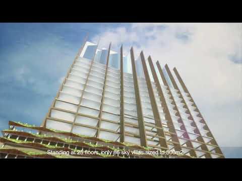 Waterina Suites Sky Villas in Ho Chi Minh, Vietnam by Maeda Corporation
