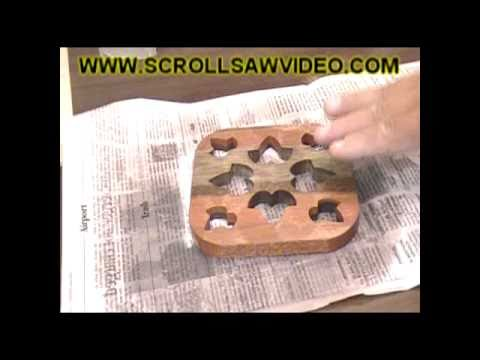 How To Woodworking Scroll Saw Patterns Apply & Removal