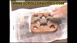 Woodworking - Scroll Saw Patterns - Apply & Removal