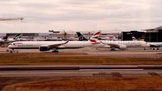 London Heathrow Airport Live Arrivals and Departing Aircraft Emirates A380
