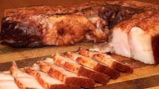 Засолка сала \ Рецепт домашнего сала с чесноком(Простой рецепт для простого блюда. Засолить сало по этому рецепту у вас не займет более пяти минут, а через..., 2015-02-17T18:06:32.000Z)