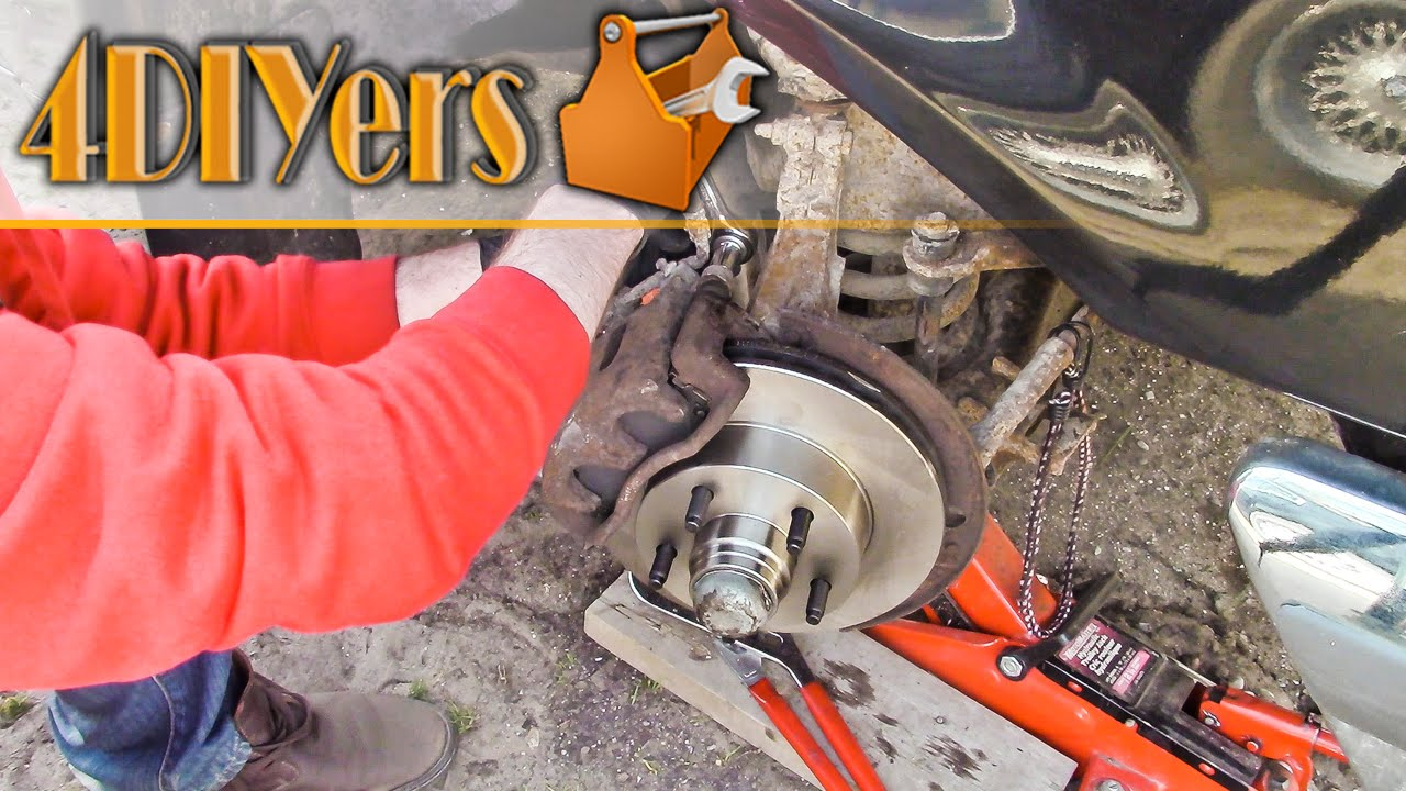 Diy Ford Ranger 2wd Front Brake Pad And Rotor Replacement Youtube 2008 4 0 V6 Engine Diagram